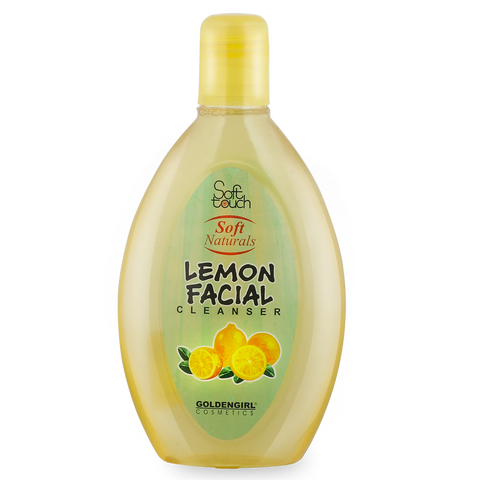 Lemon Facial Cleanser 225ml - Golden Girl Cosmetics