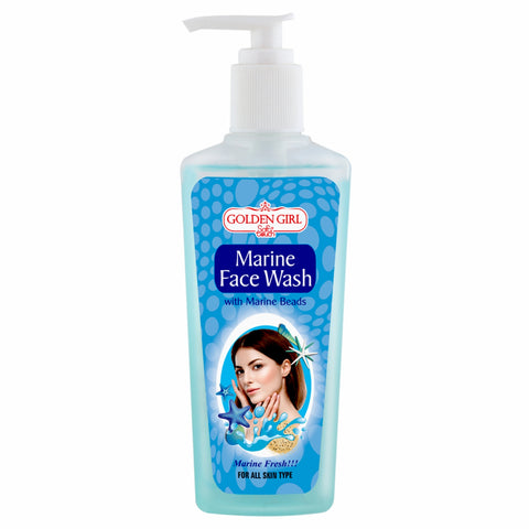 Marine Face Wash 200ml - Golden Girl Cosmetics