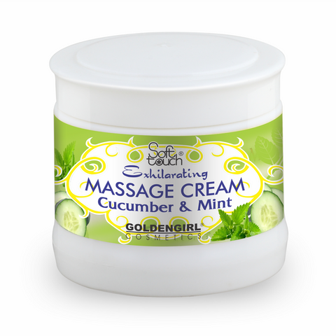 Massage Cream Cucumber & Mint 300ml - Golden Girl Cosmetics