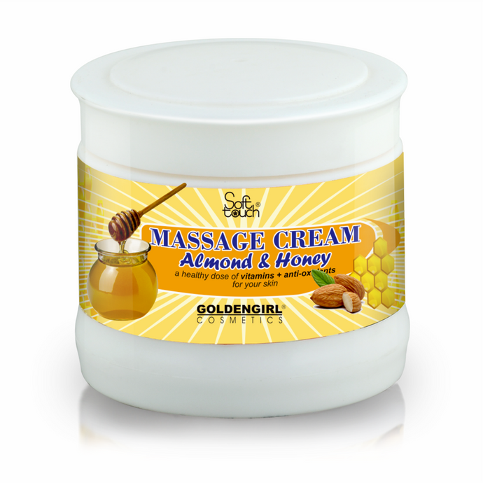 Massage Cream Honey & Almond 300ml