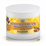 Massage Cream (Honey & Almond) 500ml - Golden Girl Cosmetics