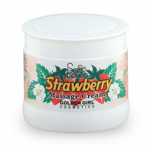 Massage Cream Strawberry: This massage cream with real strawberry extract is extra concentrated cream made entirely from natural active ingredients. It rehydrates the skin by stimulating blood circulation to the epidermis and promoting cellular renewal. It nourishes the skin as it helps maintain suppleness and softness. Massage Cream with real strawberry extract refines, renews and revitalizes. Refreshes both body & soul.