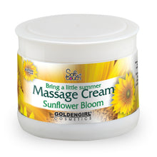 Load image into Gallery viewer, Massage Cream Sunflower uses vital fluids to build strength.