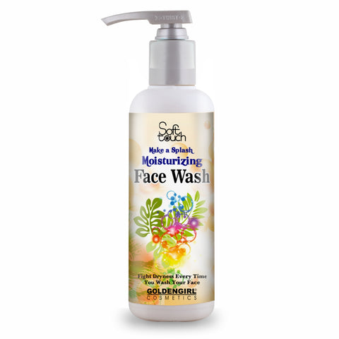 Moisturizing Face Wash 500ml - Golden Girl Cosmetics