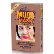 Load image into Gallery viewer, Golden Girl Mudd Mask: Tightens the pores, stops aging lines and brings back softness, natural brightness and bloom to the skin.  Natural rare-clay formula. Leaves skin so clean... it can breath! Deep cleansing facial treatment.