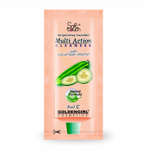 Multi Action Cleanser 10gms - Golden Girl Cosmetics