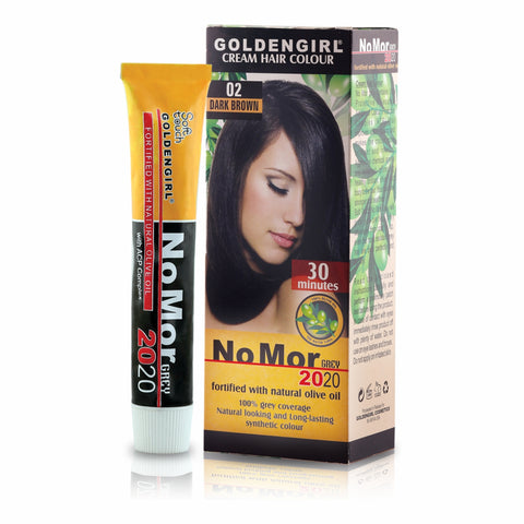 NoMor Grey Hair Color (Consumer Pack) - Golden Girl Cosmetics
