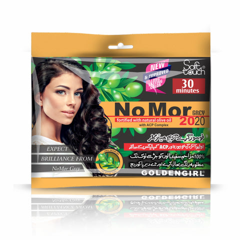 NoMor Grey Hair Color (Sachet Pack) - Golden Girl Cosmetics