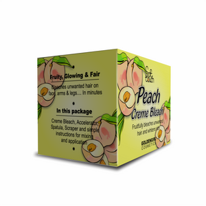 Peach Bleach Creme Mini Pack 16gm