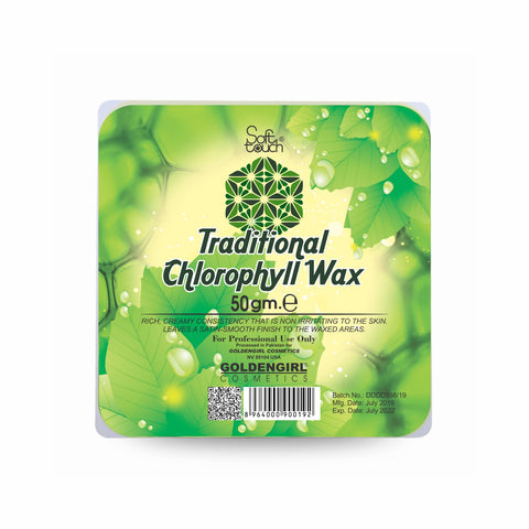 Traditional Chlorophyll Hot Wax  50 gm - Golden Girl Cosmetics