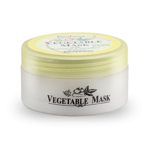Vegetable Mask: For thorough cleansing impurities below the skin surface must be purged. This organic mask cleanses into the pores-lifting out residues and absorbing excess oil. Hidden dirt is drawn out, leaving the skin revitalized. Formulated with Carrot and Cucumber to stimulate the body's natural renewal process.