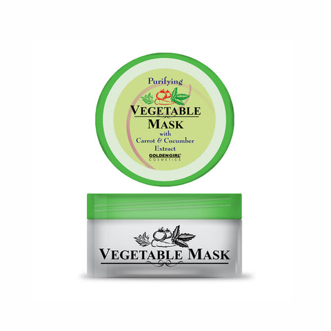Vegetable Mask 75gm - Golden Girl Cosmetics