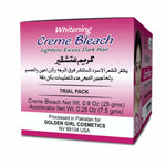 Whitening Bleach Creme Trial Pack 25gm - Golden Girl Cosmetics