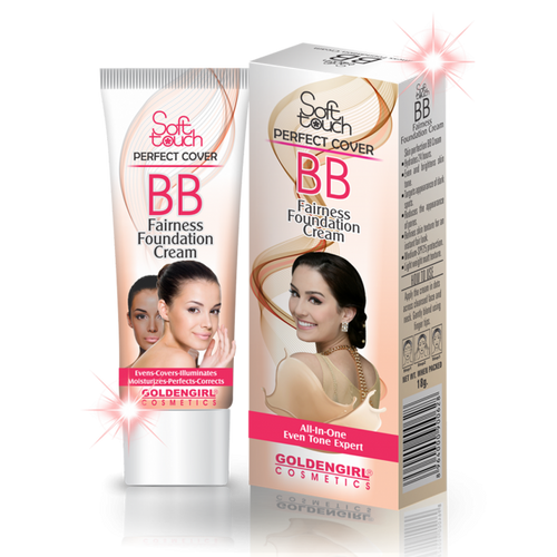 Soft Touch BB cream: It has a mixture of skincare and makeup that helps keep your skin moisturized and gives you the effect of a light foundation. It also makes your skin glowing and shiny