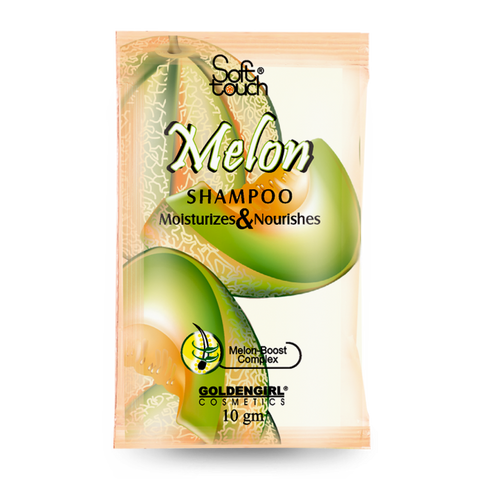 Melon Shampoo Sachet 10ml - Golden Girl Cosmetics