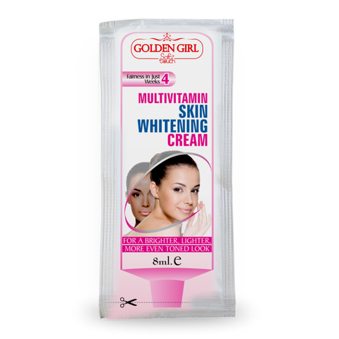 Multi-Vitamin Skin Whitening Sachet - Golden Girl Cosmetics