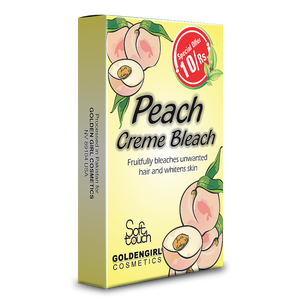 Peach Bleach Creme Sachet Pack 10ml