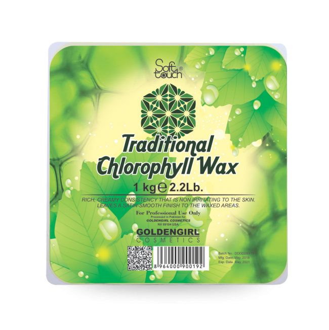 Golden Girl Traditional Chlorophyll Wax 1Kg