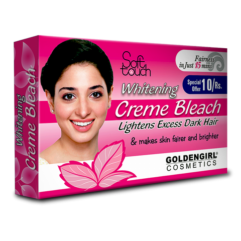 Whitening Bleach Creme Sachet Pack 10gm - Golden Girl Cosmetics