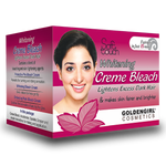 Whitening Bleach Creme Standard.  Pack 42gm - Golden Girl Cosmetics