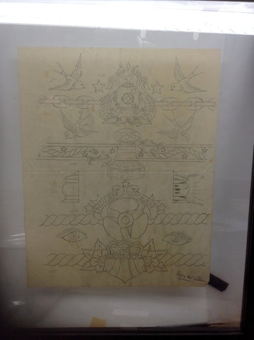 Original Sailor Jerry full flash page of Arm Band Designs