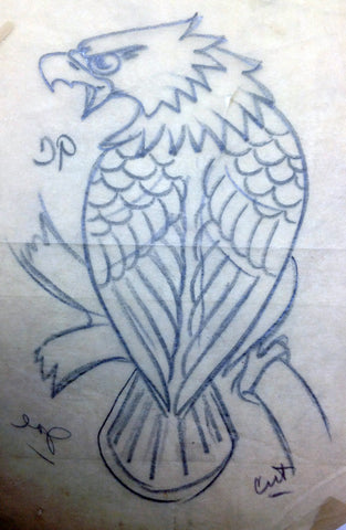 SJ eagle drawing