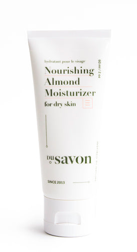 Almond Nourishing Moisturizer for Dry Skin