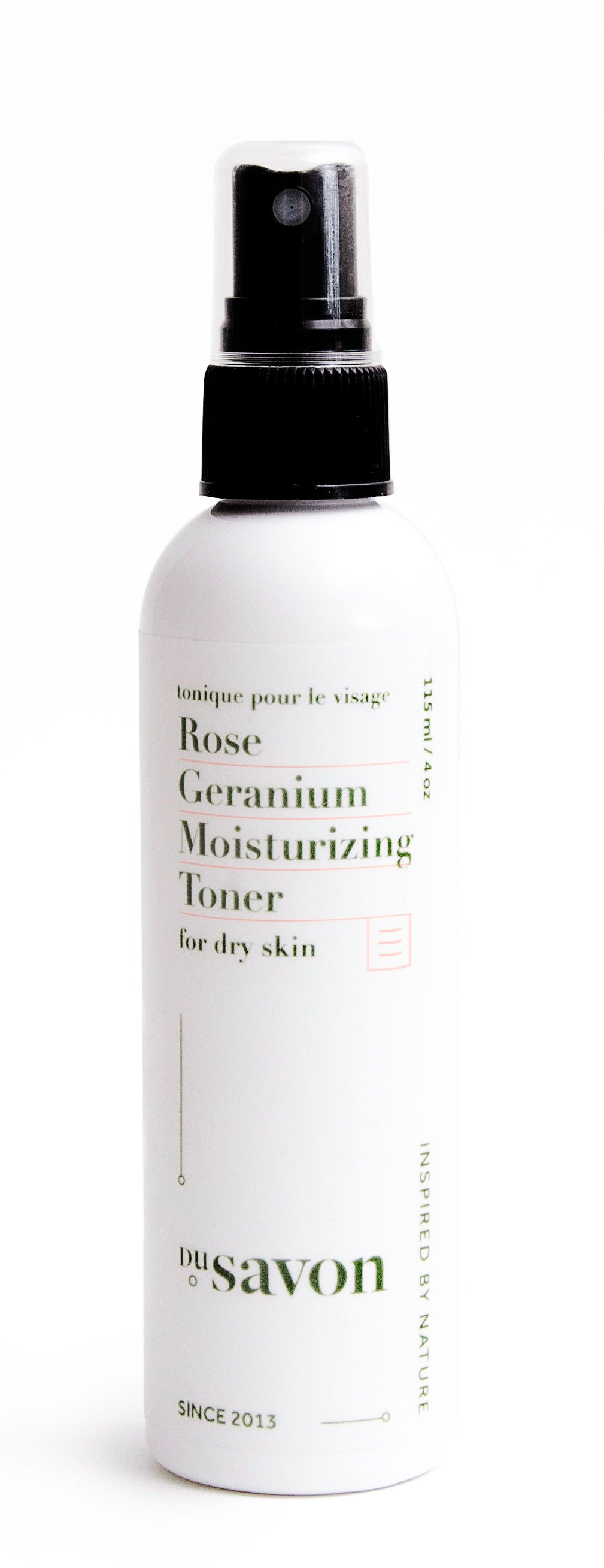 Rose Geranium Moisturizing Toner for Dry Skin
