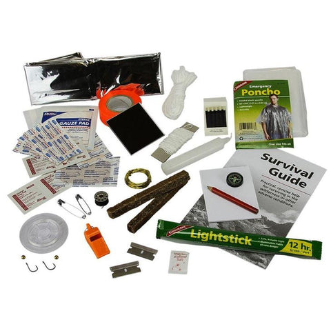 Survival Kit with Guide (46 pieces)