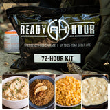 Ready Hour 72-Hour Food Kit Long Weekend Pack (2,000+ calories/day) - Camping Survival