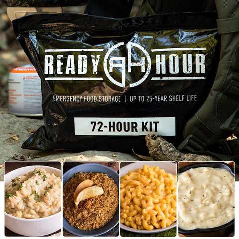 Ready Hour 72-Hour Food Kit Long Weekend Pack (2,000+ calories/day)