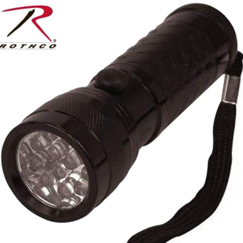 Rothco 12 Bulb LED Tactical Flashlight - campingsurvival