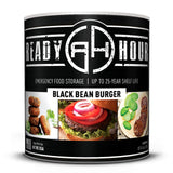 Ready Hour Black Bean Burger (38 servings) camping survival