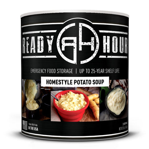 Ready Hour Homestyle Potato Soup (32 servings) camping survival