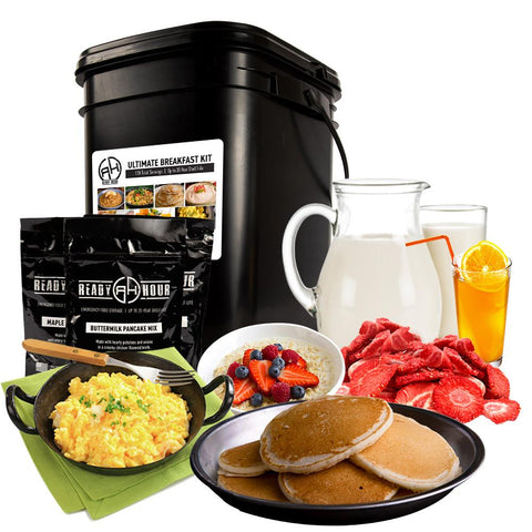 Ready Hour Ultimate Breakfast Kit (138 servings, 1 container)