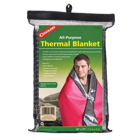 Coghlans Deluxe Thermal Blanket-Camping Survival