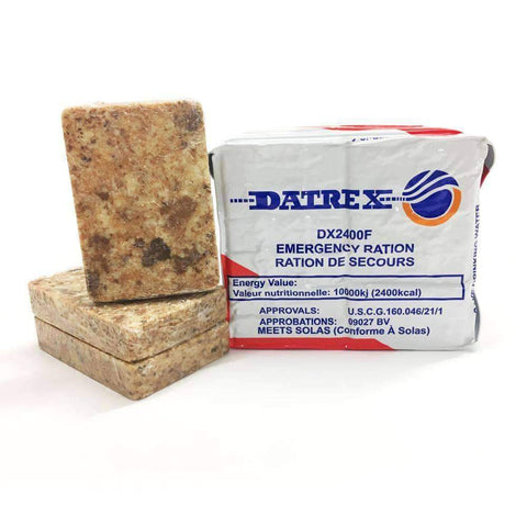 Datrex 2400 Calorie Emergency Food Ration Bars - Camping Survival