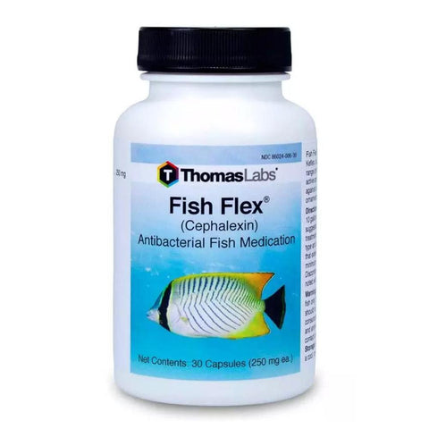 Fish Flex Forte - Cephalexin - 500mg 100 Count - Camping Survival