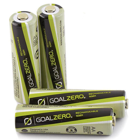 Goal Zero AA Rechargeable Batteries (4 pack)-camping survival