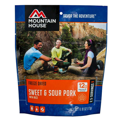 Mountain House Sweet and Sour Pork Pouch-camping survival