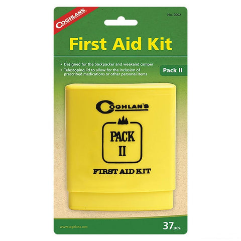 Coghlans Pack II First Aid Kit (37 pieces) - Camping Survival