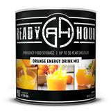 Ready Hour Orange Energy Drink Mix  (63 servings) camping survival