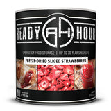 Ready Hour Freeze-Dried Sliced Strawberries (36 servings) Camping Survival