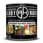 # 10 Can Ready Hour Taco Flavored Vegetable Meat Substitute-CAMPING SURVIVAL