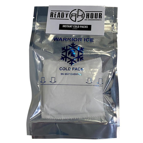 Ready Hour Warrior Ice Cold Packs (3 packs) - Camping Survival