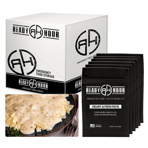 Ready Hour Creamy Alfredo Pasta Case Pack (24 servings, 6 pk.)