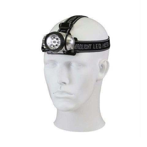Rothco 9 Bulb LED Headlamp - Camping Survival