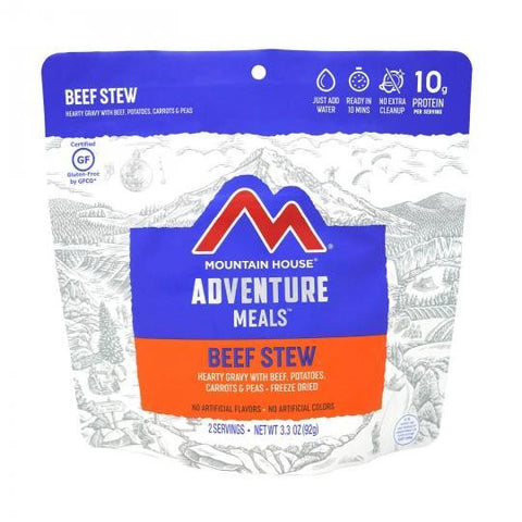 Mountain House Beef Stew Pouch - Camping Survival