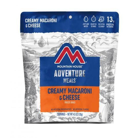 Mountain House Macaroni & Cheese Pouch - Camping Survival