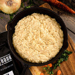 Creamy Chicken Flavored Rice Single Pouch (4 servings) - Camping Survival